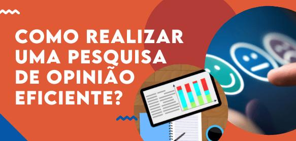 COMO REALIZAR UMA PESQUISA DE OPINIÃO EFICIENTE?